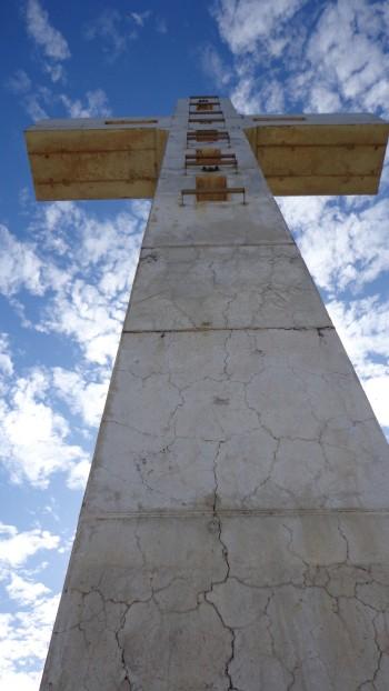 Du haut de cette croix...un oiseau vous chiera peut-être dessus
