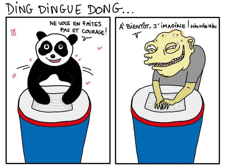 Pôle Emploi magnifiquement résumé avec humour sur le blog de http://mabananeetblablabla.com/