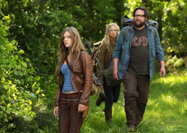 De gauche à droite je vous présente : Charlie, Aaron et Maggie