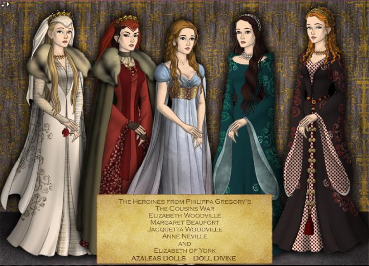 Une version poupée des héroïnes de cette grande saga par rachel637 ~deviantart