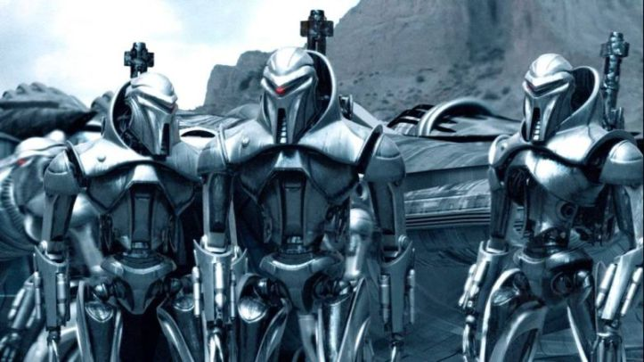 Les Centurions Cylons…adieu la jupette en cuir donc !