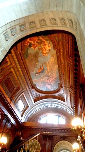 On se croirait presque au Louvre