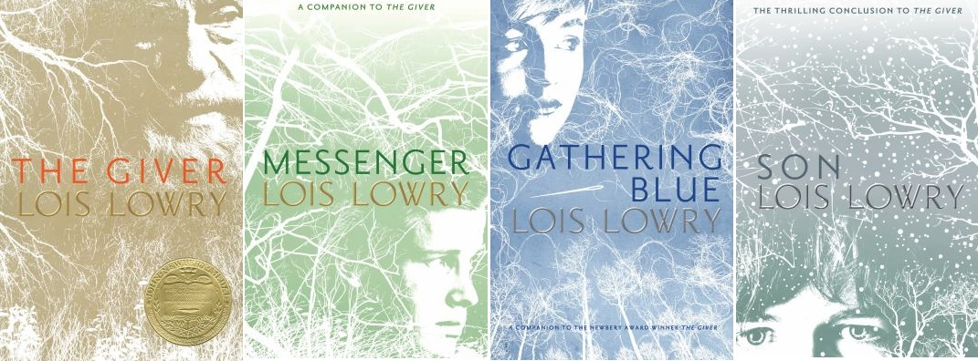 the giver and gathering blue Gathering blue, the second in the giver quartet by lois lowry, follows the story of kira, an orphaned girl in a world where physical differences are shunned and the bearers cast out, kira finds herself alone and vulnerable when her mother suddenly dies.