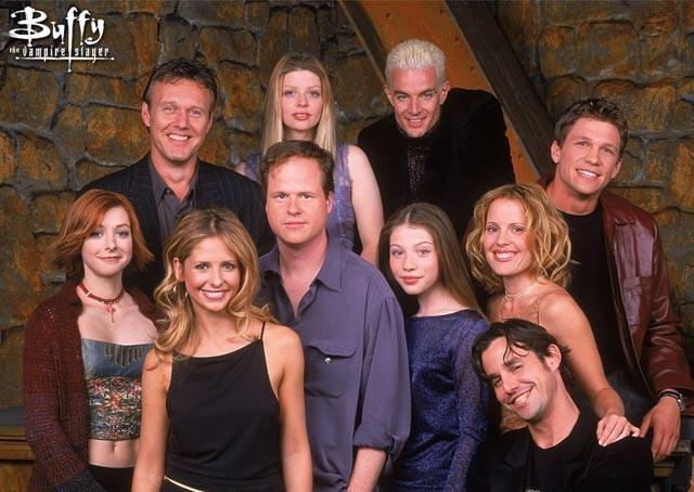 buffy season 5 cast + joss whedon