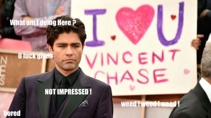 Comment résumer Vincent Chase en une image ?