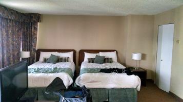 1ère chambre d'hôtel à Vancouver